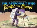 Astronaut painted moon