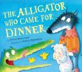 Alligator came dinner