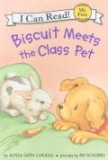 Biscuit meets class pet